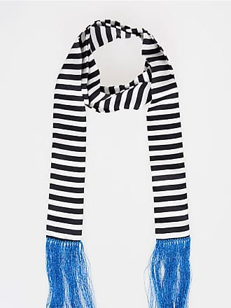 Haider Ackermann Silk Striped Scarf size Unica