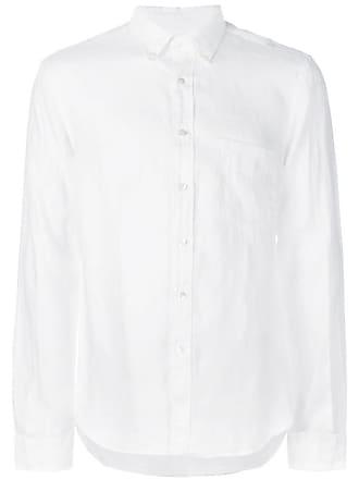 Aspesi Camisa slim mangas longas - Branco