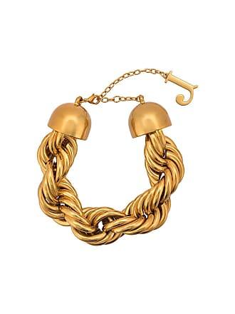 Jacquemus Pulseira com logo - Dourado