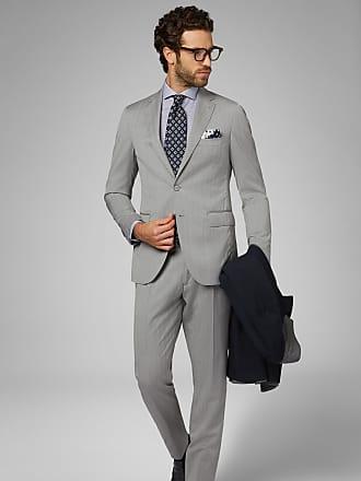 Boggi Milano abito grigio milano in lana