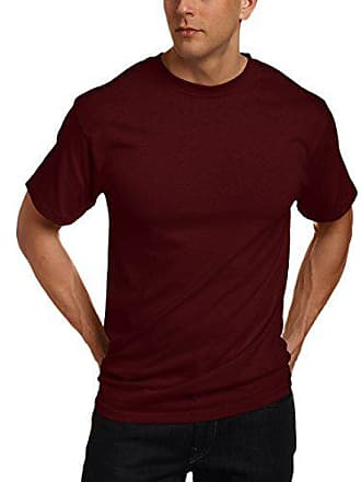 ca2f3535c Soffe e Mens Classic 100% Cotton Short Sleeve T-Shirt Maroon XX-Large