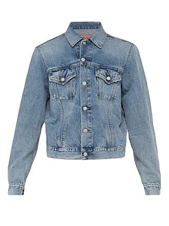 Acne Studios Point Collar Denim Jacket - Mens - Indigo