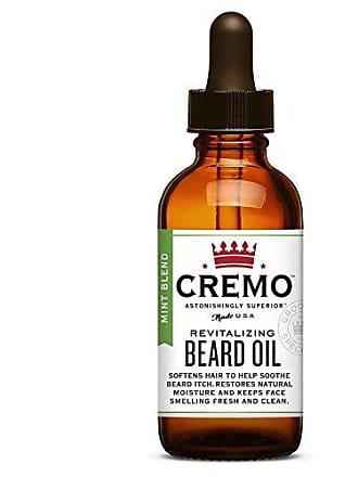 Cremo Beard Oil, Tea Tree Mint - Restores Moisture, Softens And Reduces Beard Itch for All Lengths Of Facial Hair, 1 Ounce
