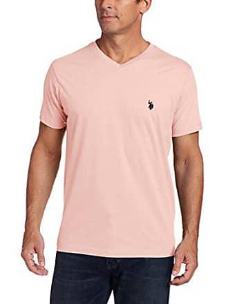 074b572588cf1 U.S.Polo Association Mens V-Neck Short Sleeve T-Shirt