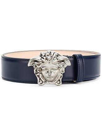 Versace 3D Medusa buckle belt - Blue