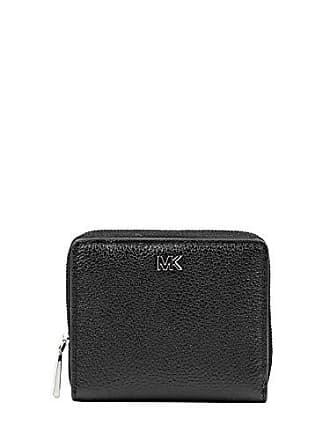 ab036bf7a0ad2 Michael Kors Damen Accessoires Brieftasche Snap Wallet Schwarz  Herbst-Winter 2019