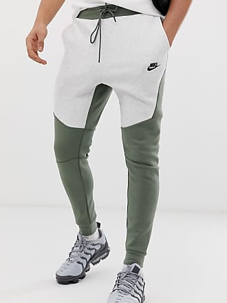 newest 16800 447d6 Nike Tech - Pantalon de jogging en polaire - Vert - Beige