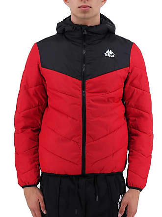 c28d44b189 Kappa Mens Authentic Amarit Padded Down Jacket Red/Black M