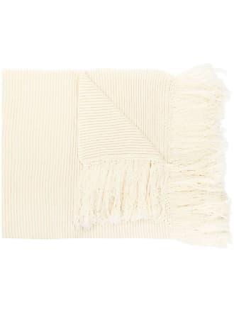 Golden Goose Cachecol oversized de tricô - Branco