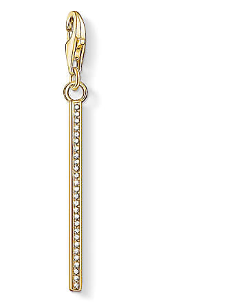 Thomas Sabo Thomas Sabo Charm pendant Vertical bar gold white 1577-414-14