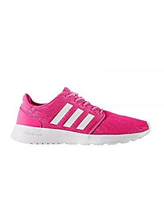 14b1344ccd86c3 adidas Damen Cf Qt Racer W Fitnessschuhe Pink Ftwbla Rosimp 000