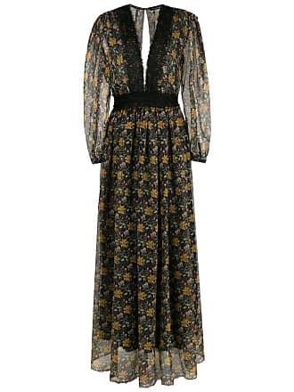 À La Garçonne Vestido longo floral - Estampado