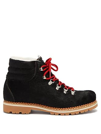 Montelliana Margherita Calf Hair Boots - Womens - Black