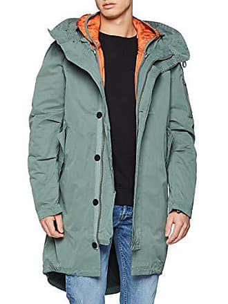 2d20e5158659 Pepe Jeans London Bennet Parka Homme Gris (Eclipse 968) Small (Taille  Fabricant