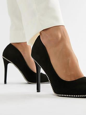 Qupid Qupid Pointed High Heels - Black
