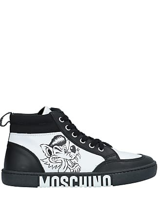 half off eb808 7e843 Moschino CHAUSSURES - Sneakers   Tennis montantes