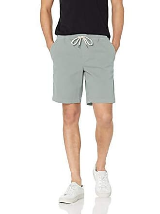 Goodthreads Mens 9 Inseam Pull-On Stretch Canvas Short, Light Green, Medium