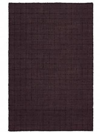 GAN Rugs Teppich Waan Dark Red