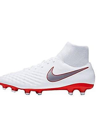 new product d1b8d 91718 Nike Magista Obra II Academy DF FG Chaussures de Football Homme, Blanc  weiß, 44.5