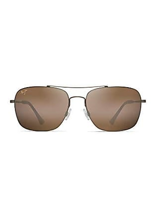 d767c033fc8 Maui Jim Lava Tube H786-16M | Polarized Matte Gold Aviator Frame Sunglasses,  HCL