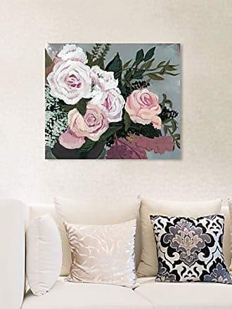 The Oliver Gal Artist Co. The Oliver Gal Artist Co. Floral Wall Art Canvas Prints Garden of Roses Home Décor, 20 x 17, White, Orange