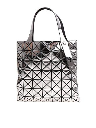 981060c441 Bao Bao Issey Miyake Silver soft bag with geometric pattern