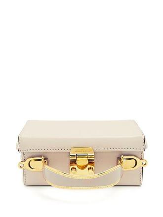 4ae8fad6421b Mark Cross Grace Small Saffiano Leather Box Bag - Womens - Ivory