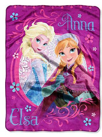 Disney s Frozen, Loving Sisters Micro Raschel Throw Blanket, 46 x 60