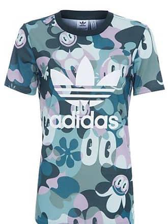 5adc18d5904 adidas Camiseta Trefoil Adidas Originals - Verde