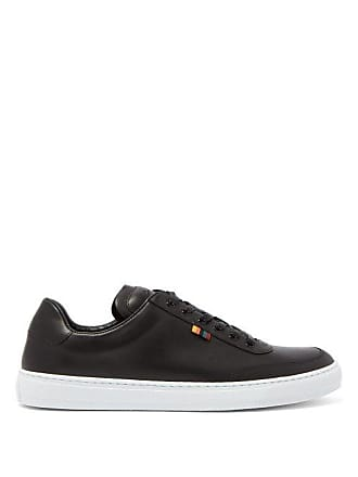 Paul Smith Earle Leather Low Top Trainers - Mens - Black