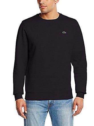 61af3ed1e0efe Lacoste Sweat-Shirt - Manches Longues Homme, Noir (Noir), X-