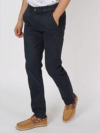 Pepe Jeans London Pantalón con Bolsillos en Forma Diagonal<br>Regular Fit<br>Azul Marino
