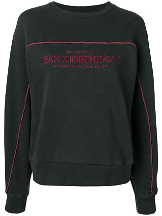 Han Kjobenhavn Moletom com logo - Preto