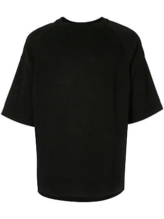 Juun.J oversized T-shirt - Preto