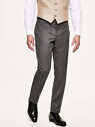 Hackett Mens Morningwear Stripe Trousers | Size 34 | Black/Charcol