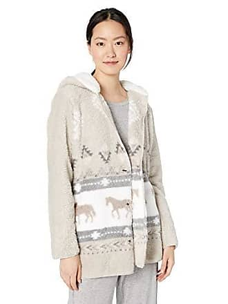 PJ Salvage Womens Cozy Lounge Sweater, Champagne, Medium