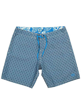 Panareha OPUNOHU beach shorts blue | recycled PET