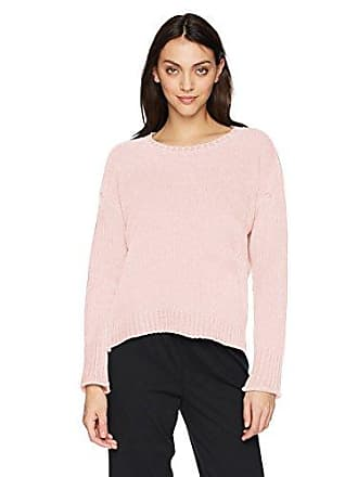 PJ Salvage Womens Chenille Cozy Sweater, Pink, XS