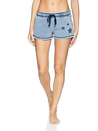 PJ Salvage Womens Printed Lounge Pajama Short, Denim Stars Small