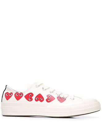 b41a881c7712 Comme Des Garçons x Converse Chuck Taylor Multi Heart 1970s Ox sneakers -  White