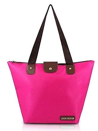 Jacki Design Bolsa Jacki Design Dobrável Tam. G Lisa Abc14098-Pk Pink T Un