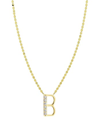 Lana Jewelry Get Personal Initial Pendant Necklace with Diamonds
