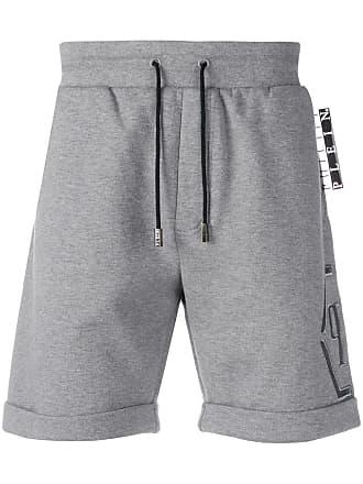 Philipp Plein Statement jogging shorts - Grey