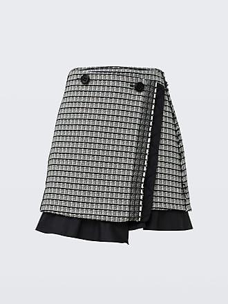 Dorothee Schumacher POETIC CONTRAST mini wrap skirt 2