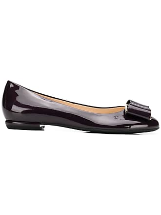 Högl closed toe ballet flats - Roxo