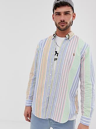 9ca0efed1f Polo Ralph Lauren Camisa Oxford de corte estándar con diseño abotonado