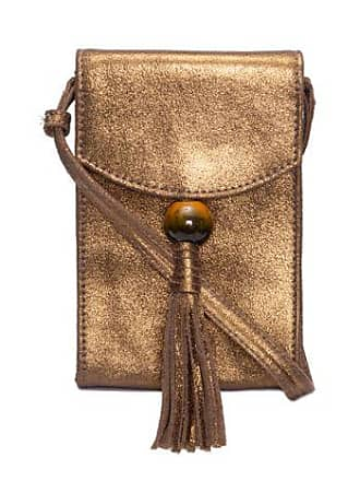 TWENTY FOUR SEVEN Mini Bolsa Crossbody Tassel Twenty Four Seven - Dourado