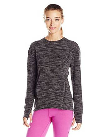 SHAPE Activewear Womens Oddessy Pullover, Charcoal, Small
