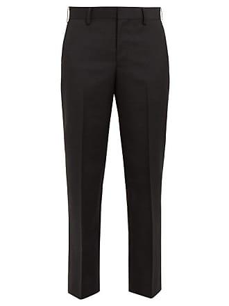 Junya Watanabe Slim Leg Tailored Trousers - Womens - Black