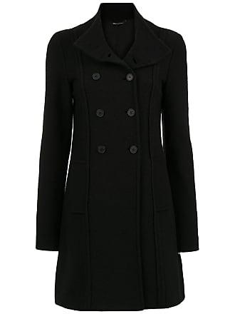 Uma Roca wool coat - Black
